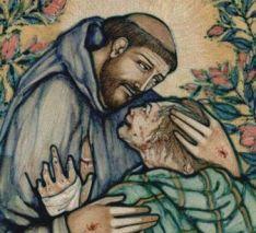 St Francis & Leper