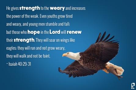 Strength in God 1
