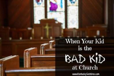 Kids in Church - Bad 1