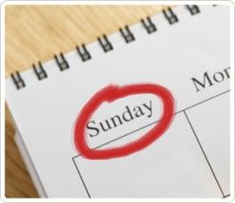 Kids in Church - Sunday Calendar